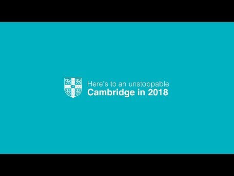 Here's to an unstoppable Cambridge University in 2018