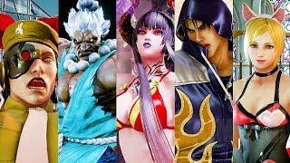 Tekken 7: Fated Retribution - ALL RAGE ARTS 4K @ 2160p (60ᶠᵖˢ) HD ✔