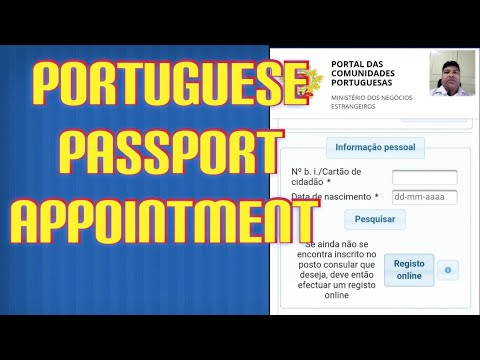 How To Make An Appointment To Renew A Portuguese Passport In London