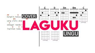 Cover Ungu - Laguku Full Diagram Chord