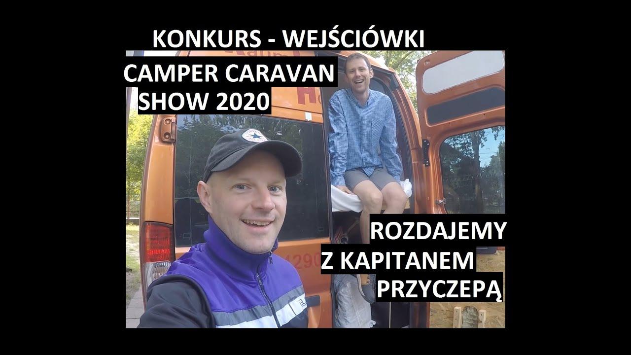 KONKURS - Wygraj wejściówki na targi Camping i Caravan Show