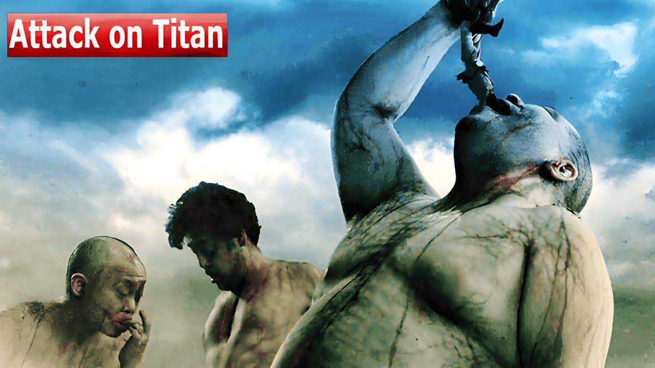 Download Attack on Titan 1+2 (2015) Film Explained in Hindi/Urdu | Attack on Titen Summarized हिन्दी