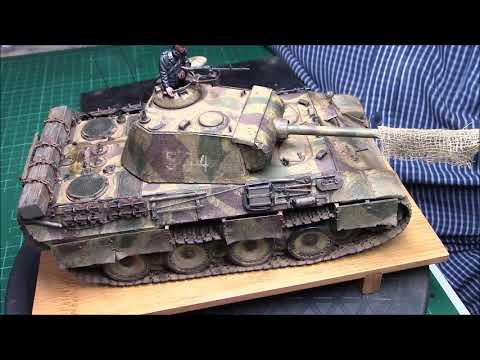 Update whats on the bench and Final reveal of The Meng Panther AUSF.A Late
