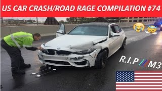 🇺🇸 [US ONLY] AMERICAN CAR CRASH/ROAD RAGE COMPILATION #74