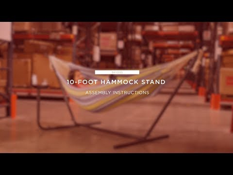 Assembly: 10-foot Hammock Stand Sky3155