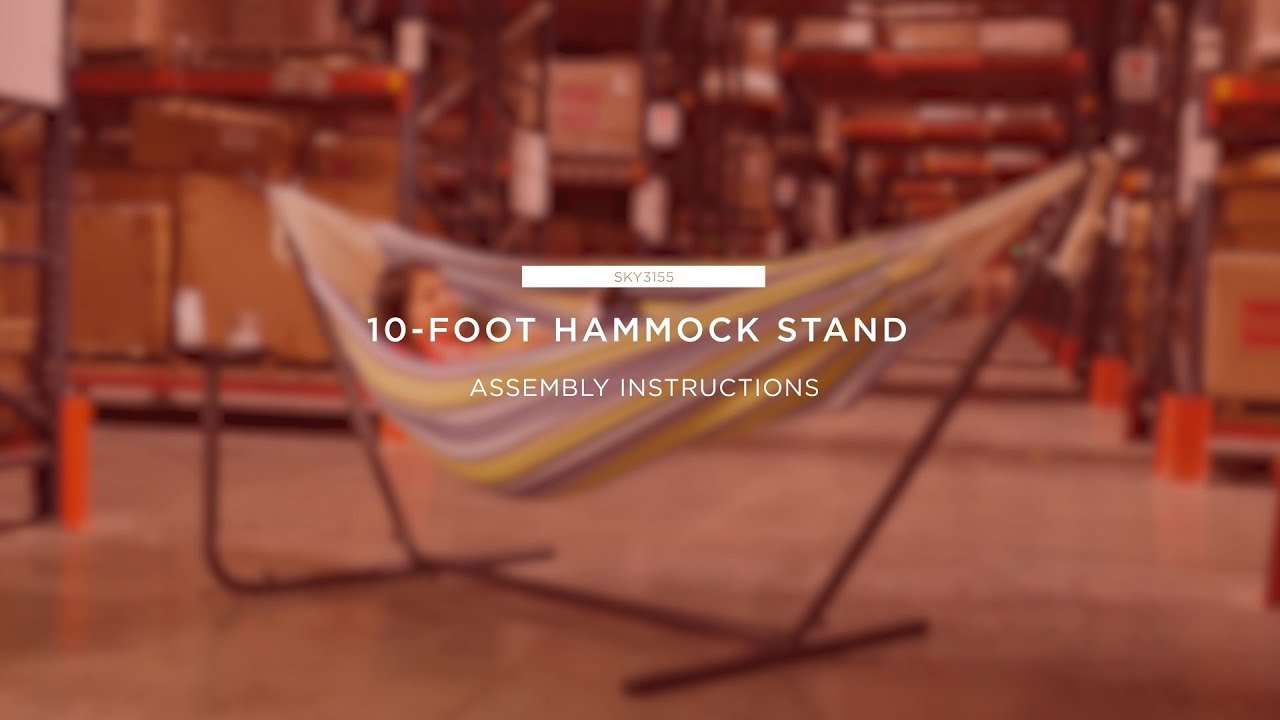 assembly  10 foot hammock stand  sky3155  assembly  10 foot hammock stand  sky3155    youtube  rh   youtube