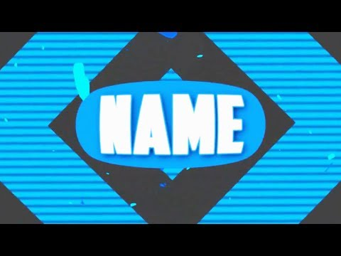 FREE Blue Gaming Intro Template #802 Sony Vegas Pro + Tutorial - YouTube