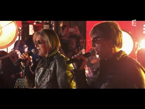 Thomas et Jacques Dutronc chantent