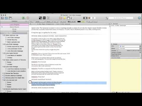 Scrivener Revisions (Bootcamp part 2)
