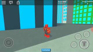 Spider Man back home at Roblox