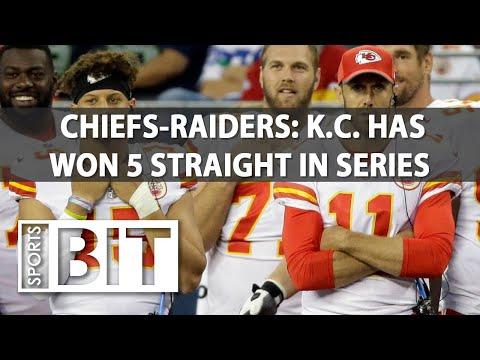 Kansas City Chiefs at Oakland Raiders | Sports BIT | NFL Picks