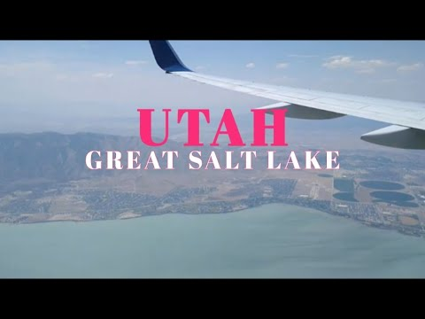ABOVE GREAT SALT LAKE | SALT LAKE CITY [UTAH]