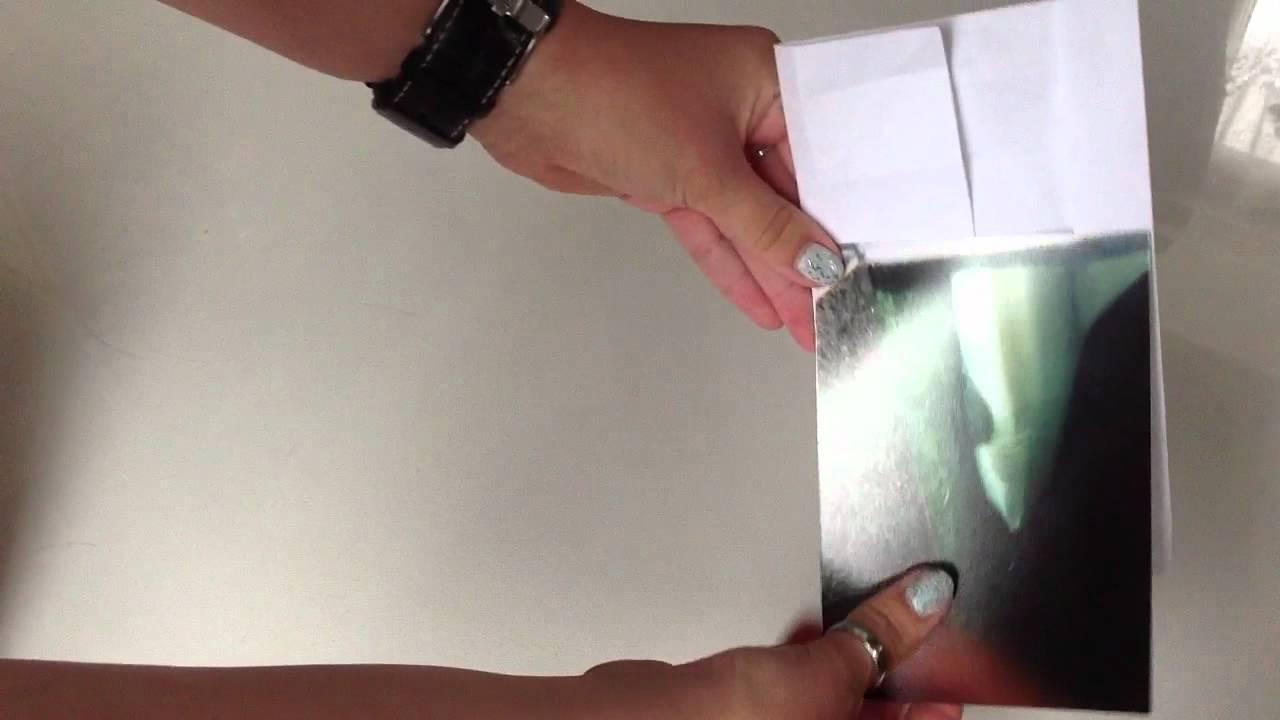 Bilderrahmen mit Origami basteln- Rahmen aus Papier - YouTube