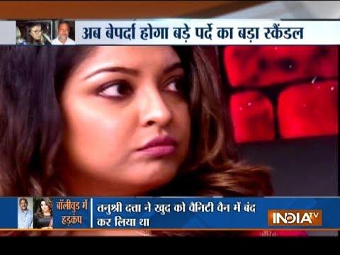 Tanushree Dutta files a police complaint against Nana Patekar and Ganesh Acharya