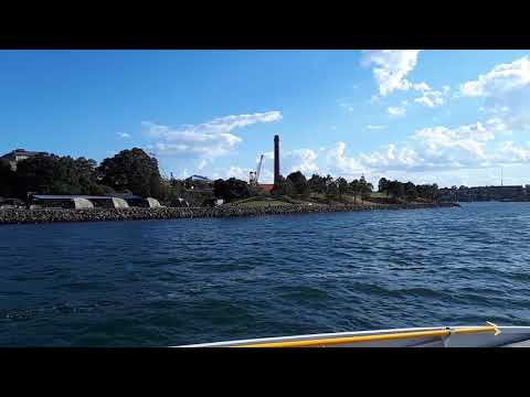 Evening Ferry Ride from Circular Quay to Parramatta