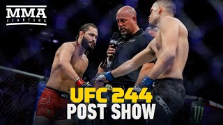 UFC 244 Post-Fight Show - MMA Fighting