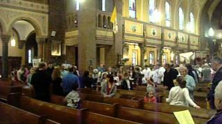 St. Casimir's Easter Resurrection Procession, Buffalo NY, April 8, 2012 Video 4 DSCN0245.AVI