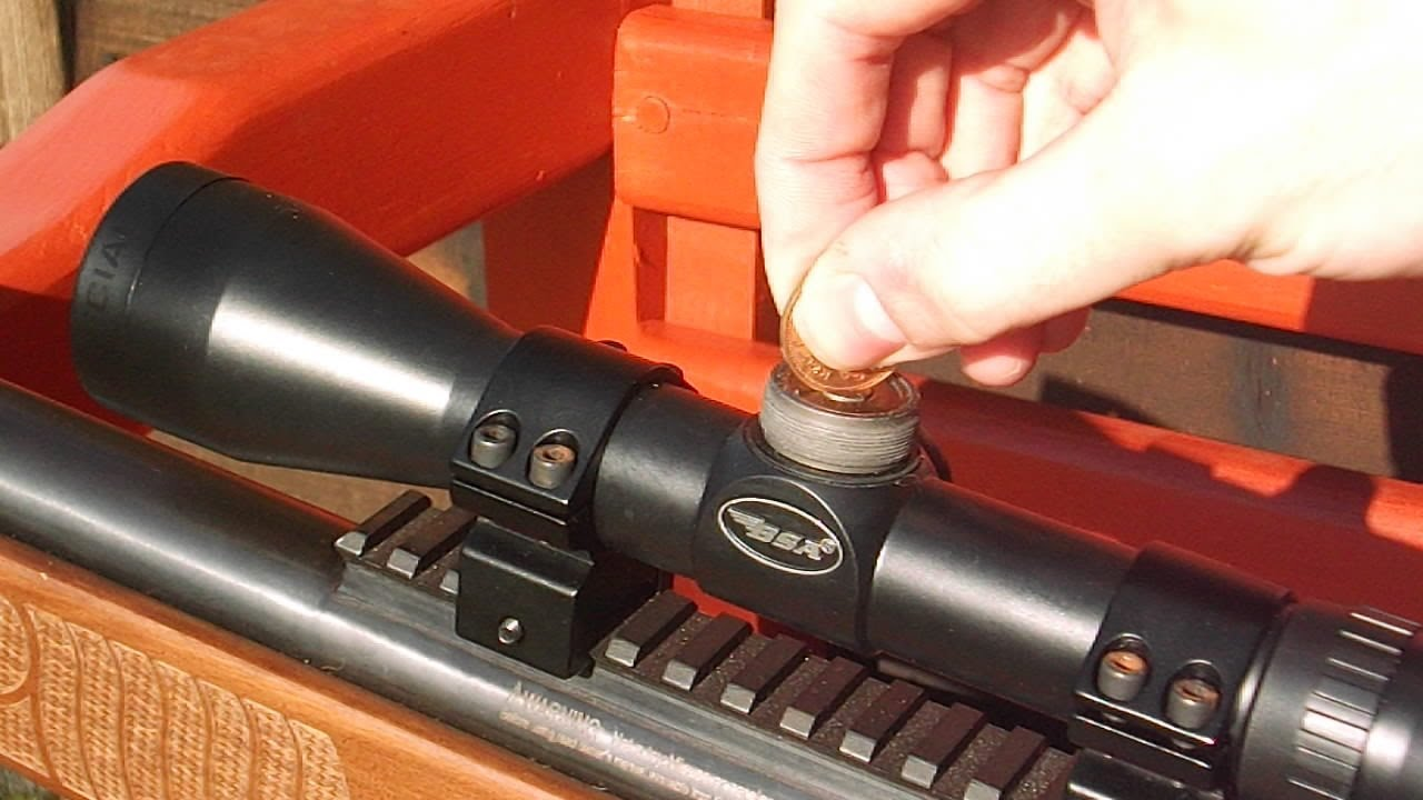 How to zero an air rifle scope (Tutorial)