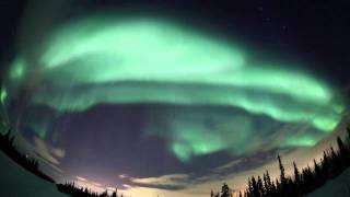 Полярное сияние (Aurora Borealis) 2011 (2-musik)(Полярные сияния (Aurora Borealis). Снято 1 марта 2011 года. Мурманская область, г.Апатиты-Кировск. Автор - Валентин..., 2011-03-23T02:16:28.000Z)