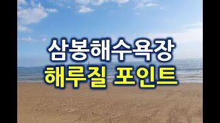 삼봉해수욕장 해루질 포인트 [태영TV]