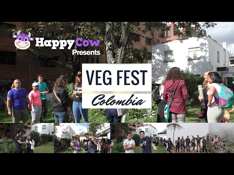 VegFest Colombia - Colombia's First Vegan Event 2017