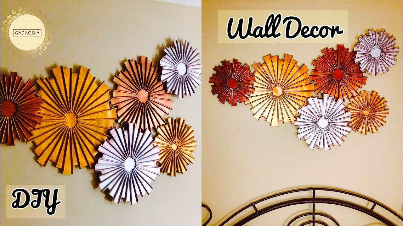 Craft Ideas For Home Decor Wall Hanging Craft Ideas Paper Crafts Unique Wall Hanging Diy Wall Decor Youtube