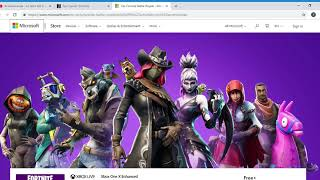 Holen Sie sich Fortnite Battle Royale Microsoft Store Google Chrome 10 10 2018 17 00 13