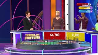 First Look on Wheel of Fortune for the PS4 (1080p)