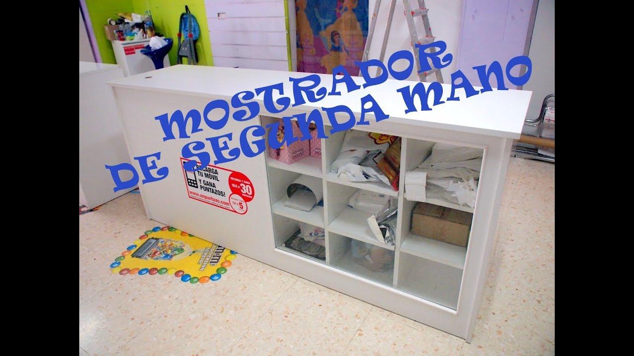 Mostrador tienda segunda mano segundamano anuncios - Compro muebles de segunda mano ...