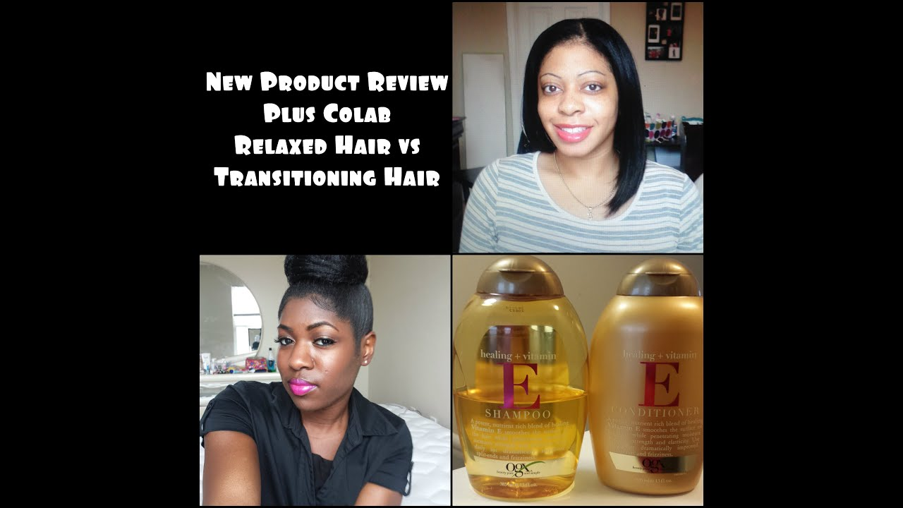 Colab Ogx Healing Vitamin E Shampoo Conditioner Youtube