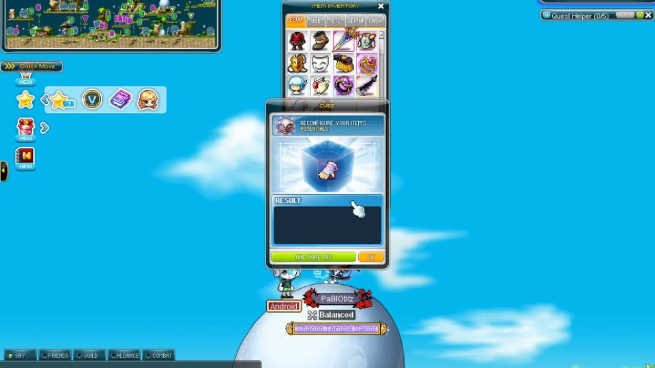 maplestory how to get legendary potential