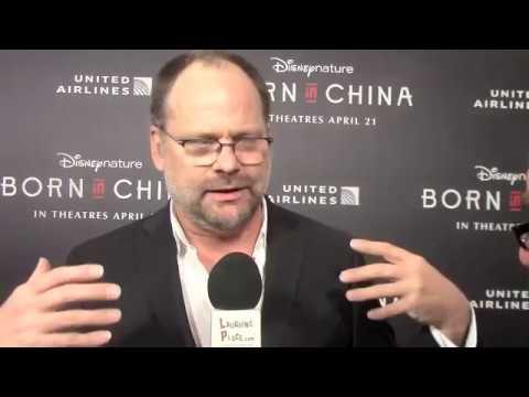 David Fowler at the Born in China Premiere