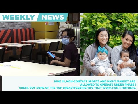 Weekly news round up. Dine in and night markets are allowed to operate under phase 1. 📺👇🏼