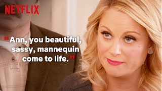 A Compliment Guide By Leslie Knope | Parks and Recreation | Netflix