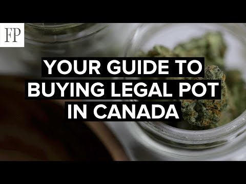 Your guide to buying legal pot in Canada