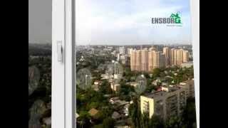 видео Самоочищающиеся стеклопакеты