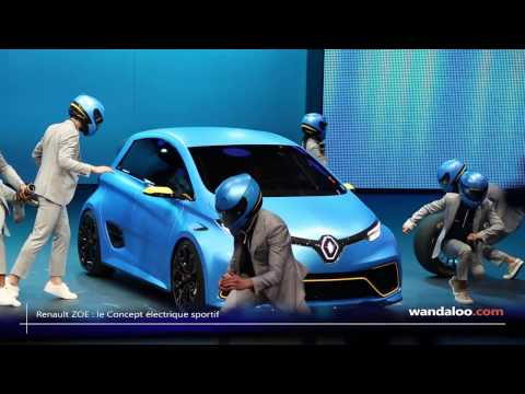 Renault ZOE e Sport Concept au Salon de Genève 2017