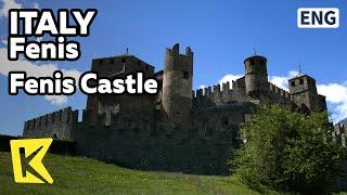 【K】Italy Travel-Fenis[이탈리아 여행-페니스]마을을 지켜보는 페니스 성/Fenis Castle/Survival