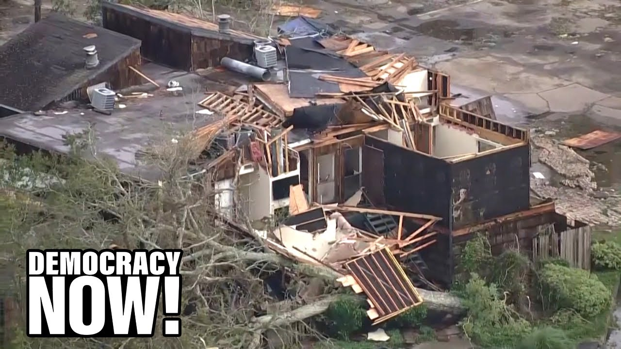 Democracy Now speaks to Hilton Kelley about the devastation Hurricane Laura caused.