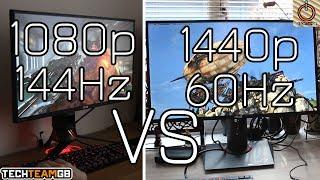 Download Video 1080p 144Hz VS 1440p 60Hz | Tech FAQs MP3 3GP MP4