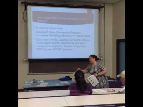 GEAR UP Basic Financial Aid Parent Workshop