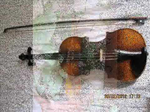Antonius Stradivarius Violin Made In Czechoslovakia Faciebat Anno