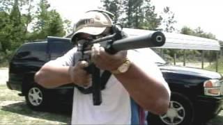 GSG-5   FUN TIME With GSG 5 .22 LR Rifle MP5 Clone