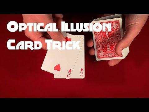 Impressive Optical Illusion Card Trick