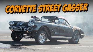 Gasser Corvette at Drag Week 2018