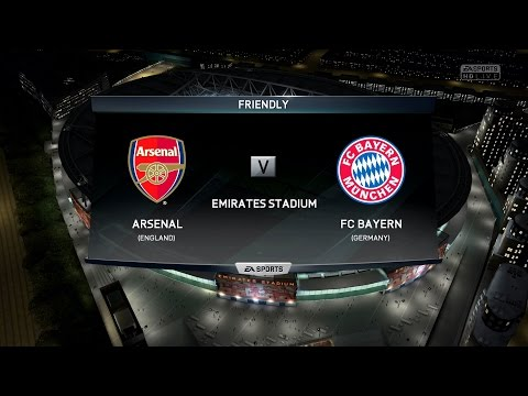FIFA 16   Arsenal F.C. vs FC Bayern Munich - Full Gameplay (PS4/Xbox One)