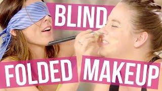 Blindfolded Makeup Challenge - Joslyn & Lily
