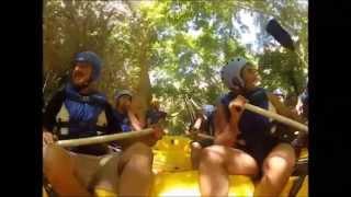 Malatya Sporiumun Darende-Tohma Çayında Rafting Keyfi