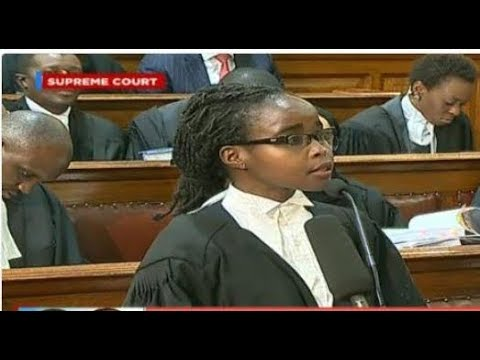 Counsel Ng'ania: Article 88 of the constitution provides for IEBC to provide credible elections