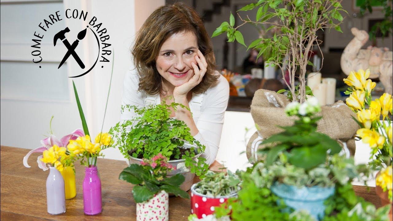 5 idee per decorare i tuoi vasi per le piante youtube for Idee per decorare